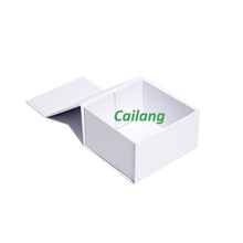 White Foldable Gift Boxes For Wedding Dress