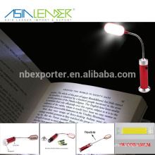 2015 Super bright flexible Light led book light