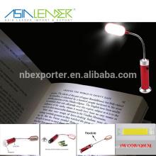 2015 Super brilhante luz flexível levou luz do livro