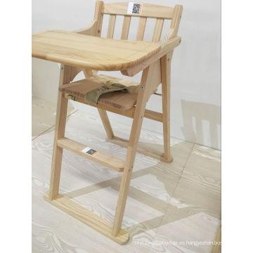 Newst silla de madera de comedor silla alta