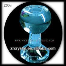 Bougeoir en cristal populaire Z008
