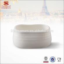 Haoxin dinnerware polegadas potes de cerâmica porcelana açucareiro pote