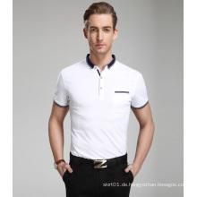 OEM 2015 Kundenspezifisches preiswertes Qualitäts-Polo-Hemd für Männer