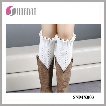 2015 Winter Warm Bud-Shaped Leg Warmers Knitting Wool Sleeves Socks
