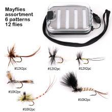 Novo Design Mayflies Fly Pesca Moscas