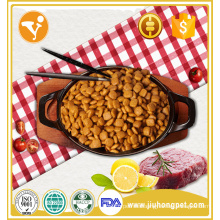 High energy pet food high calcium beef flavor dry dog food