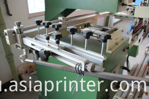 Cylinder Fishing Rod and Cue Screen Silk Printer