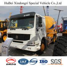 6 Cbm Sinotruck HOWO Volvo 6× 4 Euro 4 Concrete Mixer Truck