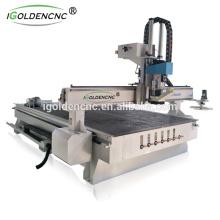 2017best venda !!! cnc router ATC 1325 centro de processamento, Jinan máquina de gravura em madeira