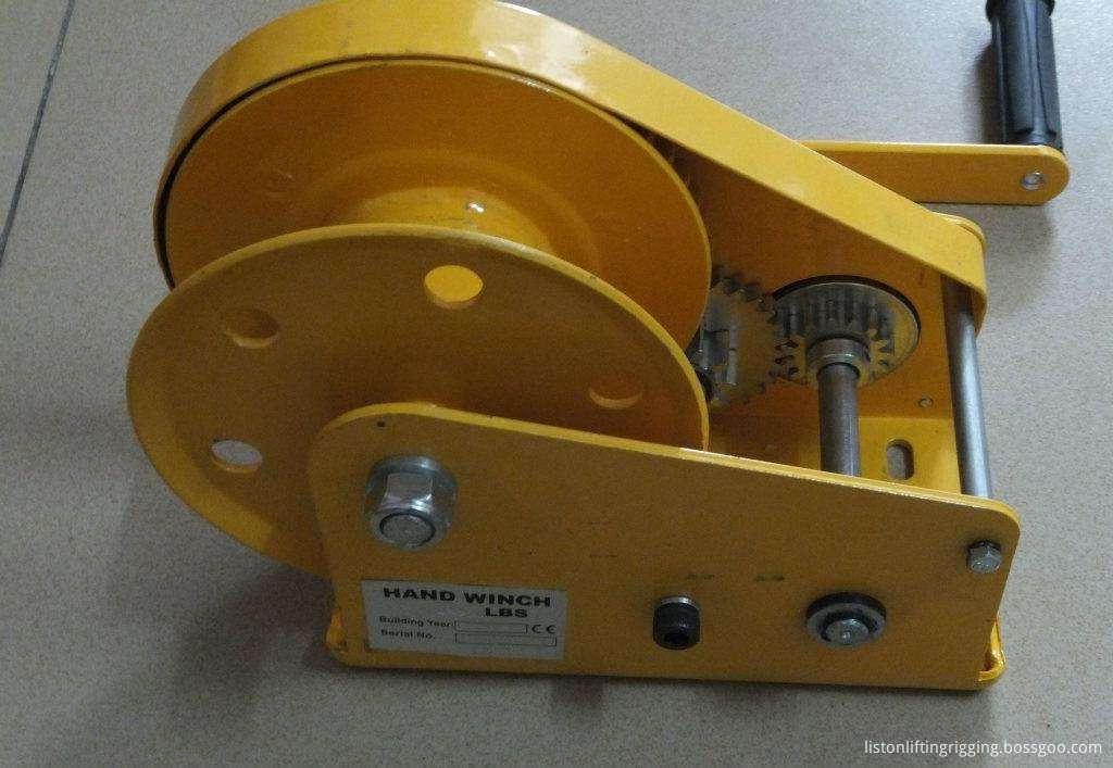 hand operate winch