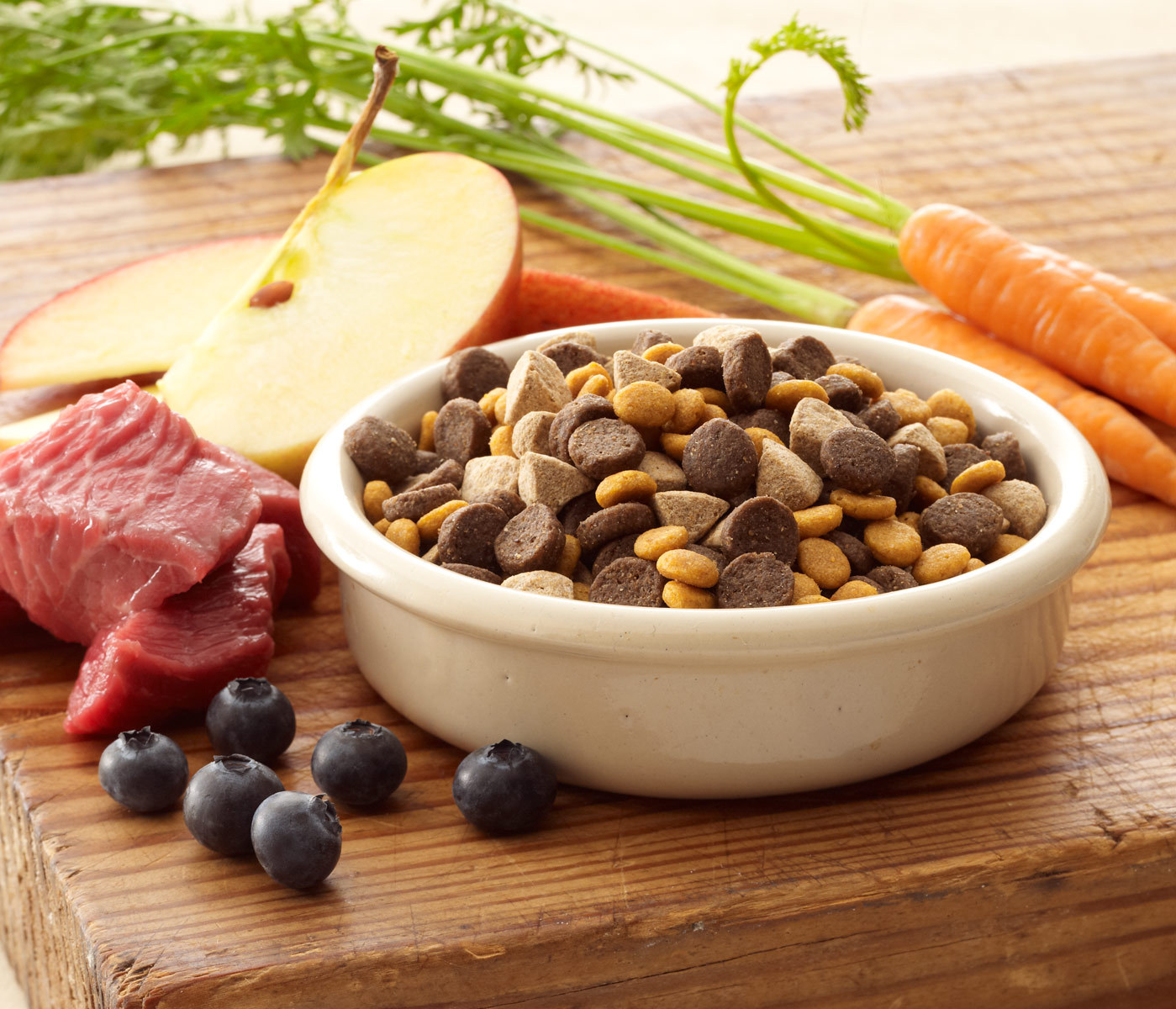 real meat and omega3 pet food