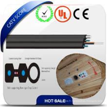 Câble d'abat-jour de câble optique de fibre optique d'intérieur de FTTH