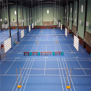 Revestimento interno do badminton do conforto do PVC