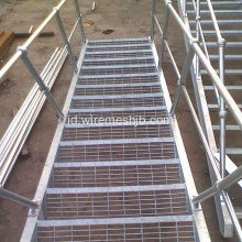 Hot-dip Galvanized Steel Grating Luar Tangga Tapak