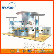 Sistemas modulares de exposición stand de exhibición stand quipment