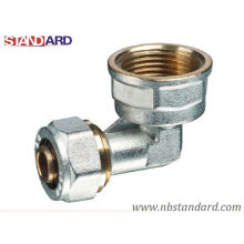 Pex-Al-Pex Fitting/Elbow/Brass Female Elbow for Pex-Al-Pex Pipe/Copper Fitting