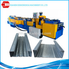 C Purlin Roll Forming Machine with Pre-Cutting and Pre-Punching