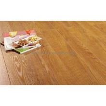 Glossy natural color oak solid wood flooring