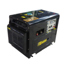 Silent diesel engine generator and welding generator for sale