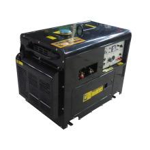 Silent diesel engine generator and welding generator for sale