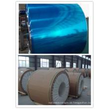 Aluminiumspule mit einer Seite PVC-beschichtet