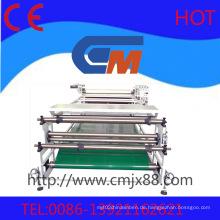 Hochgeschwindigkeitsrollen-Hitze-Transfer-Presse-Maschine