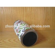 creativo por mayor en china grado superior acero inoxidable personalizada cerámica taza