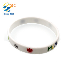 Custom Sizes Nice Quality Printing Silicon Rubber Band
