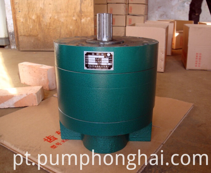 High flow rate hydraulic pump