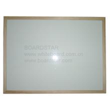 Holz gerahmtes trockenes Wischmagnetisches Whiteboard (BSTCO-W)