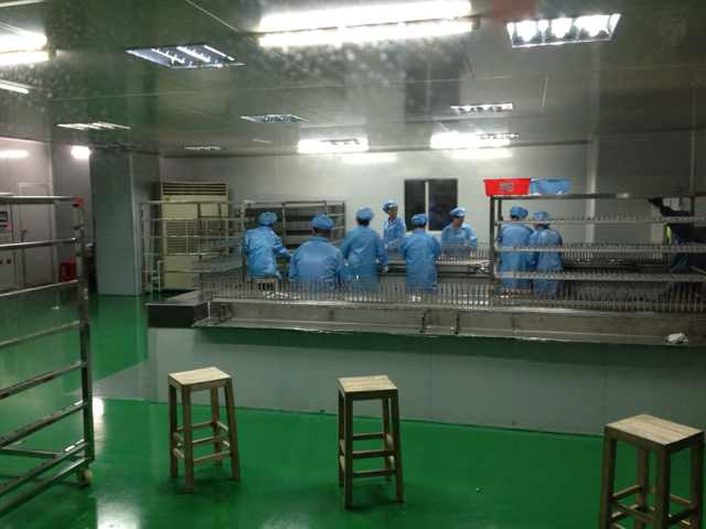 automatic prodution line