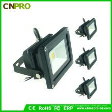 Schwarz Gehäuse 10W LED Flutlicht mit Ce RoHS