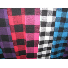 Flannel Checks Heavy Shirting Fabric
