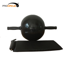 ПВХ упражнение брюшной колесо AB