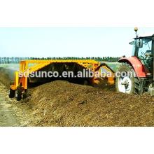 Tractor PTO driven Compost Turner machine para la venta