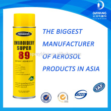 Sprayidea 89 no flammable epoxy glue for embroidery industry