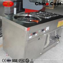 Máquina manual frita / frita del helado del rollo