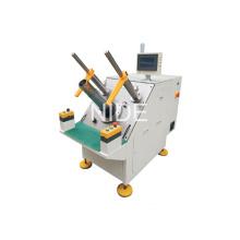 Полуавтоматическая машина для вставки обмоток в обмотку двигателя вентилятора