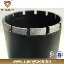 Broches de forage de diamant diamant professionnel pour construction