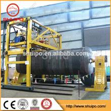 2017 Automatic Welding Machine for Circumferential Seams of Irregular Shaped Tank digital arc welding machine