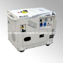 Ensemble générateur de pétrole silencieux superbe (GG6500S)