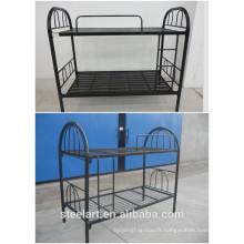 chambre / école adulte lit superposé en métal avec escalier