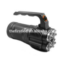 OEM Factory 4 x Cree XM-L2 T6 LED 3-Mode 3500 Lumens Aluminum Alloy Portable LED Camping Lantern Multi-function Flashlight (