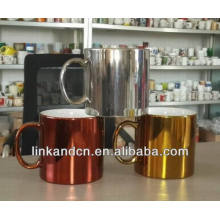 Haonai 23oz electroplating thick ceramic mugs