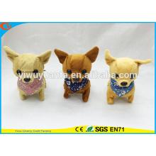 Hochwertiges Kind Spiel Chihuahua Walking Barking Electric Gefüllte Welpen