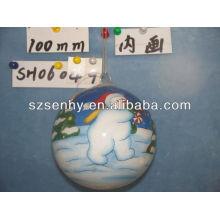 Bola de rodillo de botella de vidrio de 100 mm
