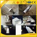 Aluminio sacado de la ranura T con el perfil T de aluminio para industrial