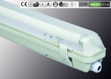 IP65 T8 18W/36W/58W ISO9001/CE/ROHS/GS/BSCI ceiling fluorescent indirect lighting fixture