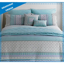Patchwork Totems Printed Polyester Duvet Cover Set