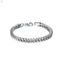 Pulsera hecha a mano de la pulsera de acero titanium de la pulsera de la detección de la caída del regalo de la Navidad
